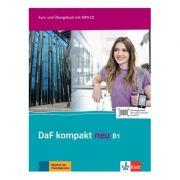 DaF kompakt neu B1, Kurs- und Übungsbuch mit MP3-CD. Deutsch als Fremdsprache für Erwachsene - Birgit Braun, Margit Doubek