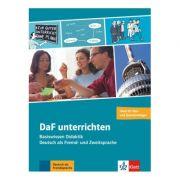 DaF unterrichten, Buch + Video-DVD. Basiswissen Didaktik - Deutsch als Fremd- und Zweitsprache - Hans-Jürgen Hantschel