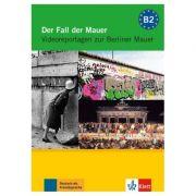 Der Fall der Mauer, DVD mit Arbeitsblättern. Videoreportagen zur Berliner Mauer - Ralf-Peter Lösche