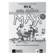 Der grüne Max NEU 1, Arbeitsbuch mit Audio-CD. Deutsch als Fremdsprache für die Primarstufe - Elzbieta Krulak-Kempisty, Lidia Reitzig, Ernst Endt