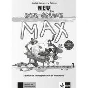 Der grüne Max Neu 1. Deutsch als Fremdsprache für die Primarstufe. Lehrerhandbuch - Elzbieta Krulak-Kempisty, Lidia Reitzig