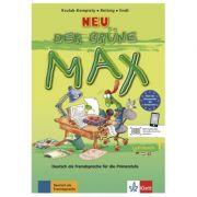 Der grüne Max NEU 1. Lehrbuch. Deutsch als Fremdsprache für die Primarstufe - Elzbieta Krulak-Kempisty, Lidia Reitzig, Ernst Endt