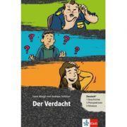 Der Verdacht, Buch + Online-Angebot. Deutsch als Fremd- und Zweitsprache - Irene Margil, Andreas Schlüter
