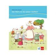Der Wolf und die sieben Geißlein, Buch + Online-Angebot. für Kinder mit Grundkenntnissen Deutsch - Angelika Lundquist-Mog, Brüder Grimm