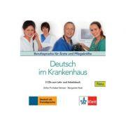 Deutsch im Krankenhaus Neu, 2 Audio-CDs. Berufssprache für Ärzte und Pflegekräfte - Ulrike Firnhaber-Sensen, Margret Rodi