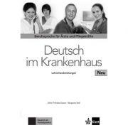 Deutsch im Krankenhaus Neu, Lehrerhandbuch. Berufssprache für Ärzte und Pflegekräfte - Ulrike Firnhaber-Sensen, Margret Rodi