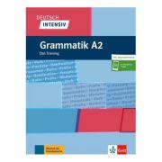 Deutsch intensiv Grammatik A2, Buch + online. Das Training - Christiane Lemcke, Lutz Rohrmann
