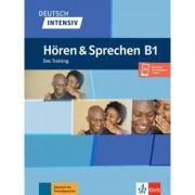 Deutsch intensiv Hören & Sprechen B1. Das Training. Buch + Audio - Arwen Schnack
