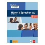 Deutsch intensiv Hören und Sprechen A2, Buch + Onlineangebot. Das Training - Tanja Mayr-Sieber