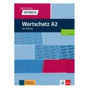Deutsch intensiv Wortschatz A2, Buch + online. Das Training - Christiane Lemcke, Lutz Rohrmann