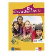 Die Deutschprofis A1. Kursbuch mit Audios und Clips online - Olga Swerlowa