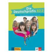 Die Deutschprofis A2. 2. Kurs- und Übungsbuch mit Audios und Clips online - Olga Swerlowa