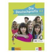 Die Deutschprofis A2. Kursbuch mit Audios und Clips online - Olga Swerlowa