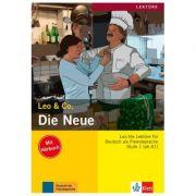 Die Neue, Buch mit Audio-CD. Leichte Lektüren für Deutsch als Fremdsprache - Elke Burger, Theo Scherling
