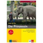 Die Prinzessin, Buch mit Audio-CD. Leichte Lektüren für Deutsch als Fremdsprache - Elke Burger, Theo Scherling