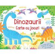 Dinozaurii - carte cu jocuri (Usborne) - Usborne Books