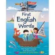 First English Words (Inclus audio CD), Age 3-7 - Karen Jamieson