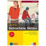 Gebrochene Herzen, Buch mit Audio-CD. Leichte Lektüren für Deutsch als Fremdsprache - Elke Burger, Theo Scherling