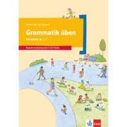 Grammatik üben - Lernstufe 1. Deutsch als Zweitsprache in der Schule, Arbeitsheft - Denise Doukas-Handschuh