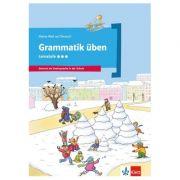 Grammatik üben - Lernstufe 3. Deutsch als Zweitsprache in der Schule - Denise Doukas-Handschuh