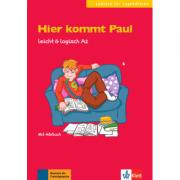 Hier kommt Paul, leicht & logisch A2. Buch mit Audio-CD - Sarah Fleer
