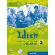 Ideen 2 Arbeitsbuch mit 2 Audio-CDs zum Arbeitsbuch + CD-ROM - Dr. Wilfried Krenn, Dr. Herbert Puchta