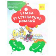 Limba si literatura romana, manual pentru clasa a IV-a. Semestrul I - Alina Radu, Roxana Jeler