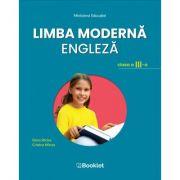 Limba moderna engleza. Manual pentru clasa a III-a - Elena Sticlea, Cristina Mircea