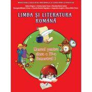 Limba si literatura romana. Manual pentru clasa a IV-a, Semestrul I. Contine CD - Adina Grigore