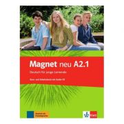 Magnet neu A2. 1. Kurs- und Arbeitsbuch mit Audio-CD. Deutsch für junge Lernende - Giorgio Motta, Silvia Dahmen