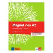 Magnet neu A2. Testheft mit Audio-CD (Goethe-Zertifikat A2: Fit in Deutsch). Deutsch für junge Lernende - Giorgio Motta, Ursula Esterl