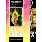 Manual Limba latina, clasa a IX-a - Ecaterina Giurgiu
