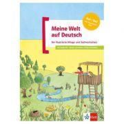 Meine Welt auf Deutsch, Buch + Audio-CD. Der illustrierte Alltags- und Sachwortschatz. Deutsch als Zweitsprache - Beata Menzlovà