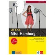 Miss Hamburg, Buch mit Audio-CD. Leichte Lektüren für Deutsch als Fremdsprache - Elke Burger, Theo Scherling