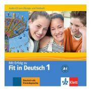 Mit Erfolg zu Fit in Deutsch 1, Audio-CD - Karin Vavatzandis, Sylvia Janke-Papanikolaou