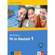Mit Erfolg zu Fit in Deutsch 1. Übungs- und Testbuch - Karin Vavatzandis