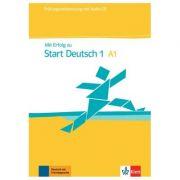 Mit Erfolg zu Start Deutsch 1, Übungs- und Testbuch + Audio-CD. Prüfungsvorbereitung - Andrea Frater, Uta Loumiotis