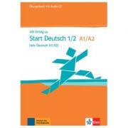 Mit Erfolg zu Start Deutsch 1/2 (telc Deutsch A1/A2), Übungsbuch + Audio-CD - Hubert Eichheim