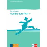 Mit Erfolg zum Goethe-Zertifikat C1. Übungsbuch + Audio-CD - Hans-Jürgen Hantschel