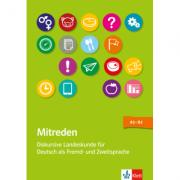 Mitreden. Diskursive Landeskunde für Deutsch als Zweit- und Fremdsprache. Lehrerbuch mit Kopiervorlagen + Online-Angebot - Eva Hamann