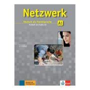 Netzwerk A1, Testheft mit Audio-CD. Deutsch als Fremdsprache - Kirsten Althaus, Margret Rodi