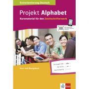 Projekt Alphabet. Kursmaterial für den Zweitschrifterwerb, Kurs- und Übungsbuch - Claudia Volkmar-Clark
