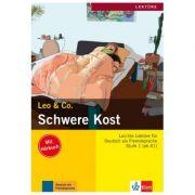 Schwere Kost, Buch mit Audio-CD. Leichte Lektüren für Deutsch als Fremdsprache - Elke Burger, Theo Scherling