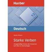 Starke Verben Buch Unregelmassige Verben des Deutschen zum Uben & Nachschlagen - Monika Reimann