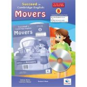 Succeed in Movers. 8 Practice Tests 2018 Format Student's with CD and key - Andrew Betsis, Lawrence Mamas