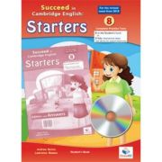 Succeed in Starters. 8 Practice Tests 2018 Format Student's Book with CD and key - Andrew Betsis, Lawrence Mamas