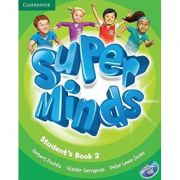 Super Minds Level 2, Student's Book with DVD-ROM - Herbert Puchta, Gunter Gerngross, Peter Lewis-Jones