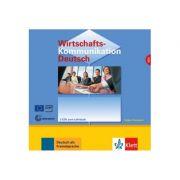 Wirtschaftskommunikation Deutsch NEU, 2 Audio-CDs. Deutsch für den Beruf - Volker Eismann