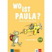 Wo ist Paula? 1+2. Deutsch für die Primarstufe. Lehrerhandbuch zu den Bänden 1 und 2 mit vier Audio-CDs und Video-DVD - Claudine Brohy, Ernst Endt