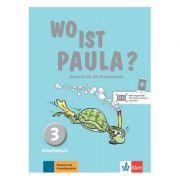 Wo ist Paula? 3, Arbeitsbuch mit CD-ROM (MP3-Audios) - Ernst Endt, Michael Koenig, Marion Schomer, Elżbieta Krulak-Kempisty, Lidia Reitzig, Nadine Ritz-Udry, Hannelore Pistorius